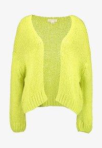 Honey Punch - CARDI - Cardigan - neon green - 3