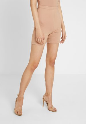 PONTE BIKER - Shorts - taupe
