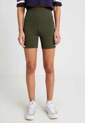 PONTE BIKER - Shorts - olive