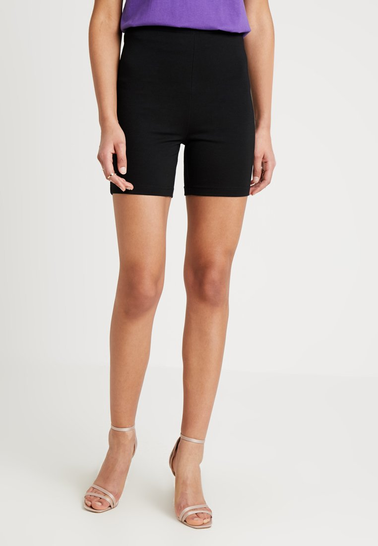 Honey Punch - PONTE BIKER - Short - black