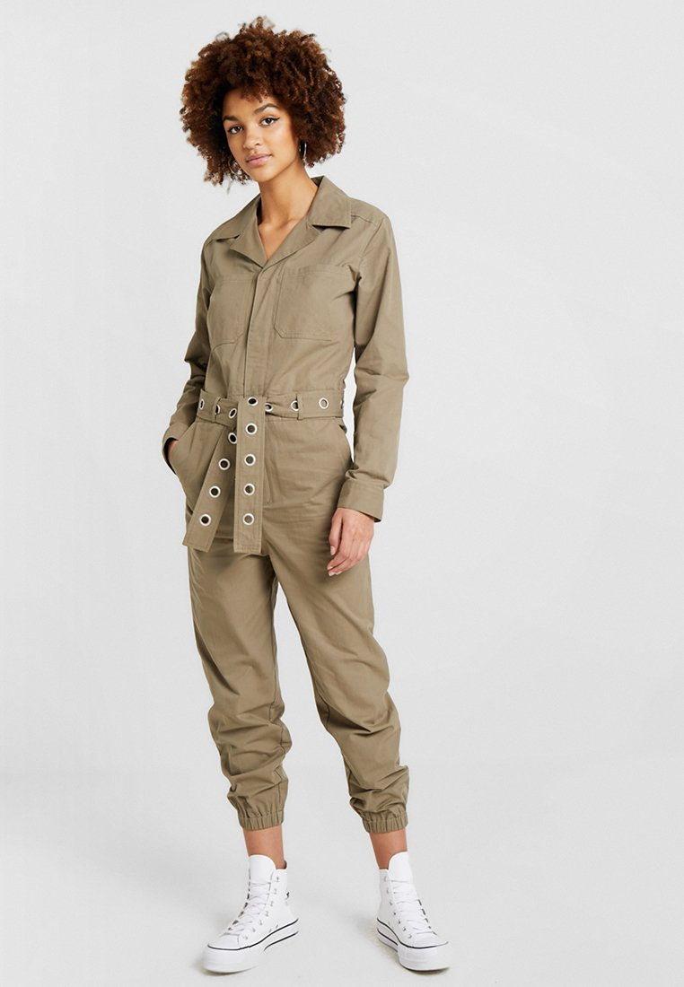Honey Punch - BELTED - Overall / Jumpsuit /Buksedragter - khaki
