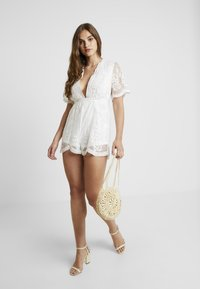 Honey Punch - ROMPER - Overall / Jumpsuit - white - 2