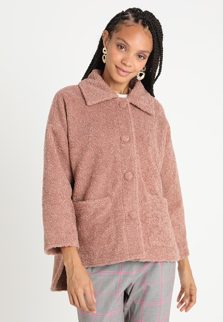 Honey Punch - CROPPED - Winter jacket - dusty rose