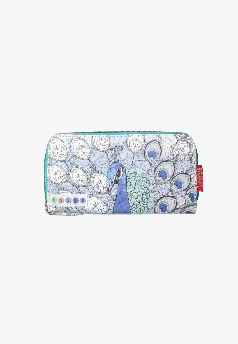 House of Disaster - ME PEACOCK - Wallet - blue