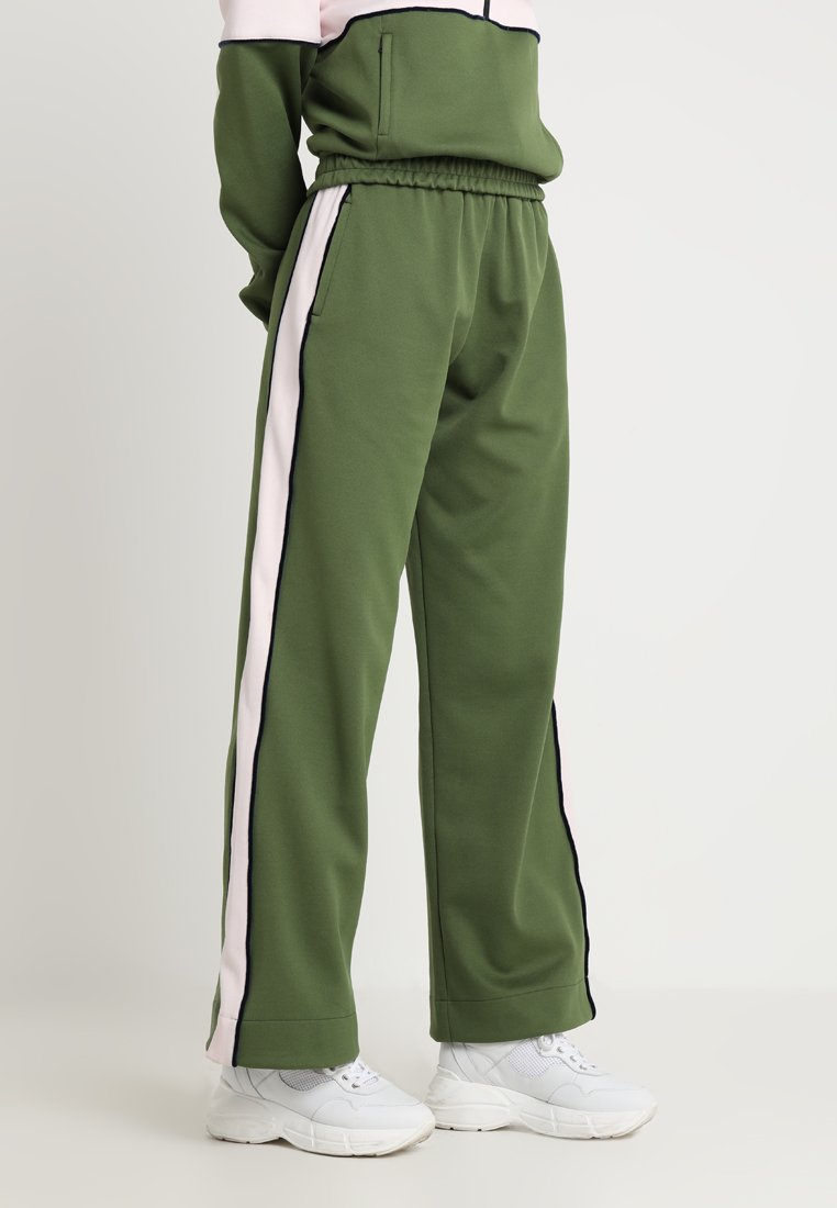 House of Holland - CONTRAST PANELLED TRACKPANT - Tracksuit bottoms - light green