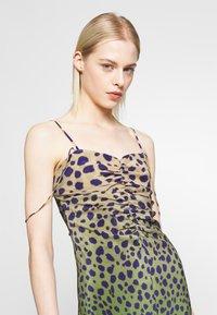 House of Holland - CHEETAH DRESS - Denní šaty - brown multi - 4