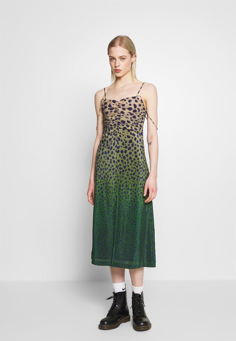 House of Holland - CHEETAH DRESS - Denní šaty - brown multi