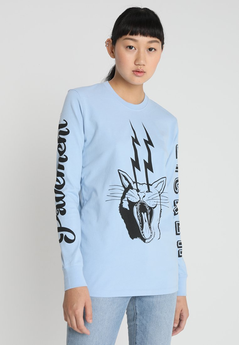 House of Holland - PAVEMENT LICKER TEE - Long sleeved top - blue