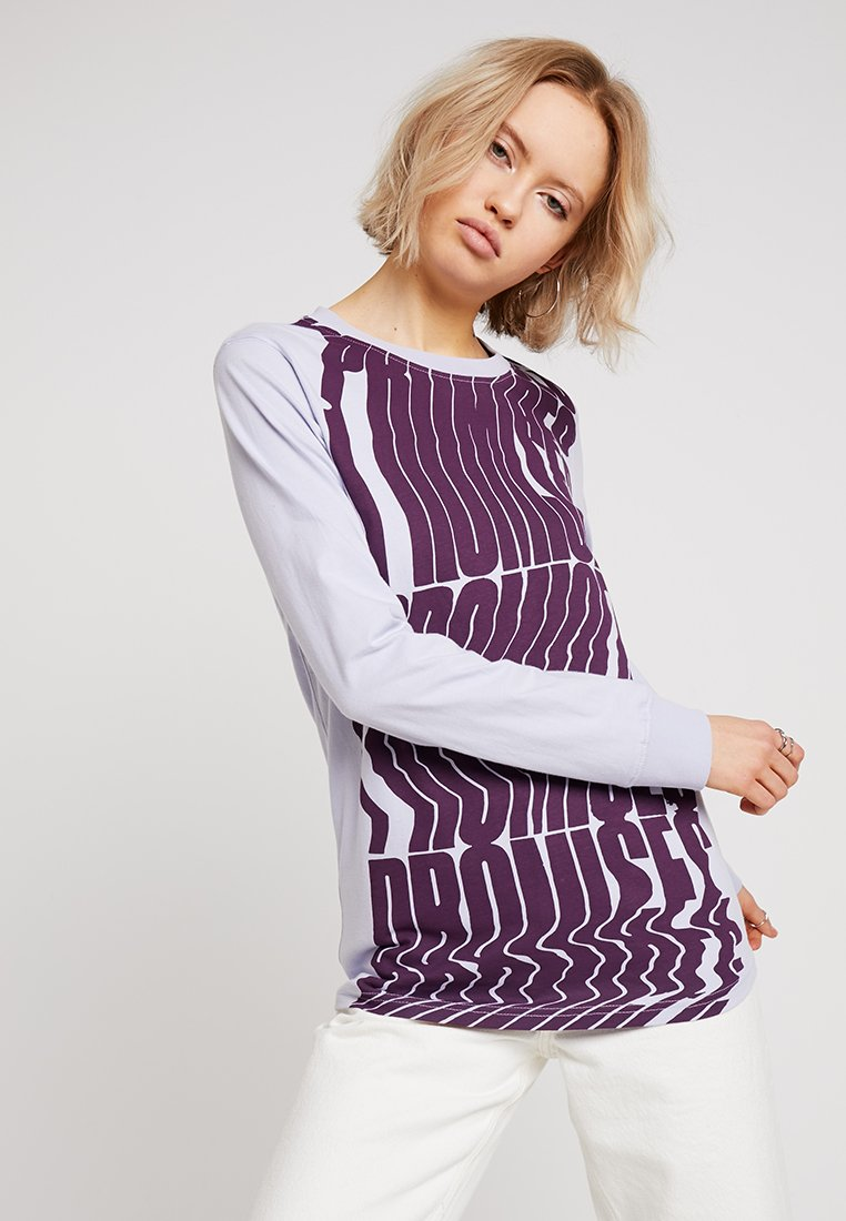 House of Holland - PROMISES LONG SLEEVE - Long sleeved top - lilac
