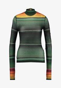 House of Holland - STRIPE LONG SLEEVE - T-shirt à manches longues - khaki/multi - 3