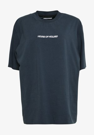 EMBROIDERED - T-shirts med print - navy