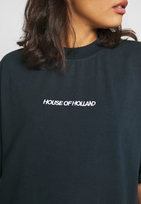 House of Holland - EMBROIDERED - Triko s potiskem - navy - 4