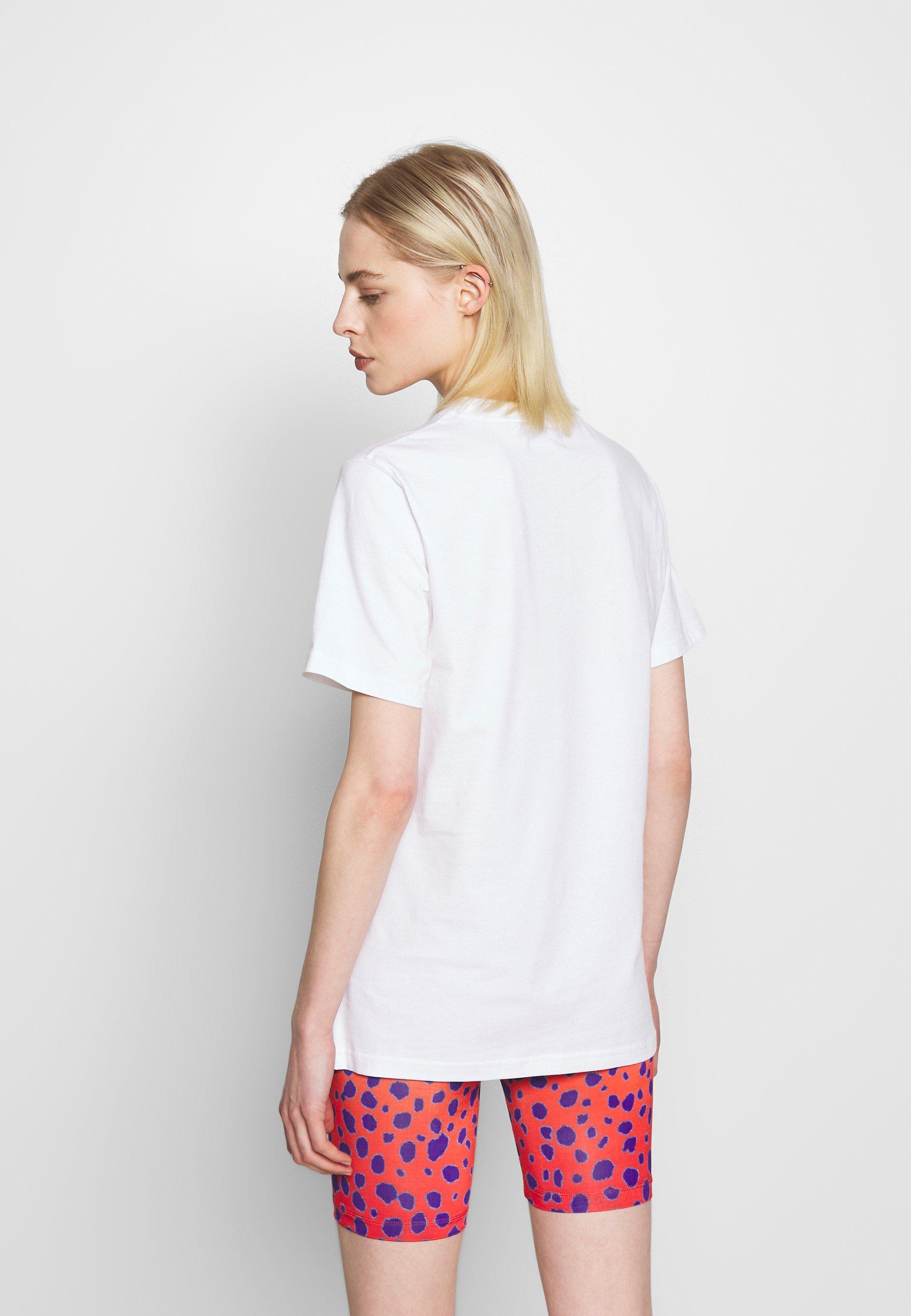 House of Holland HOUSE TSHIRT - T-shirt z nadrukiem - white