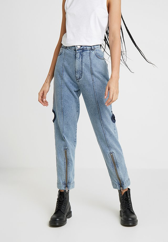 UTILITY - Jeans straight leg - blue