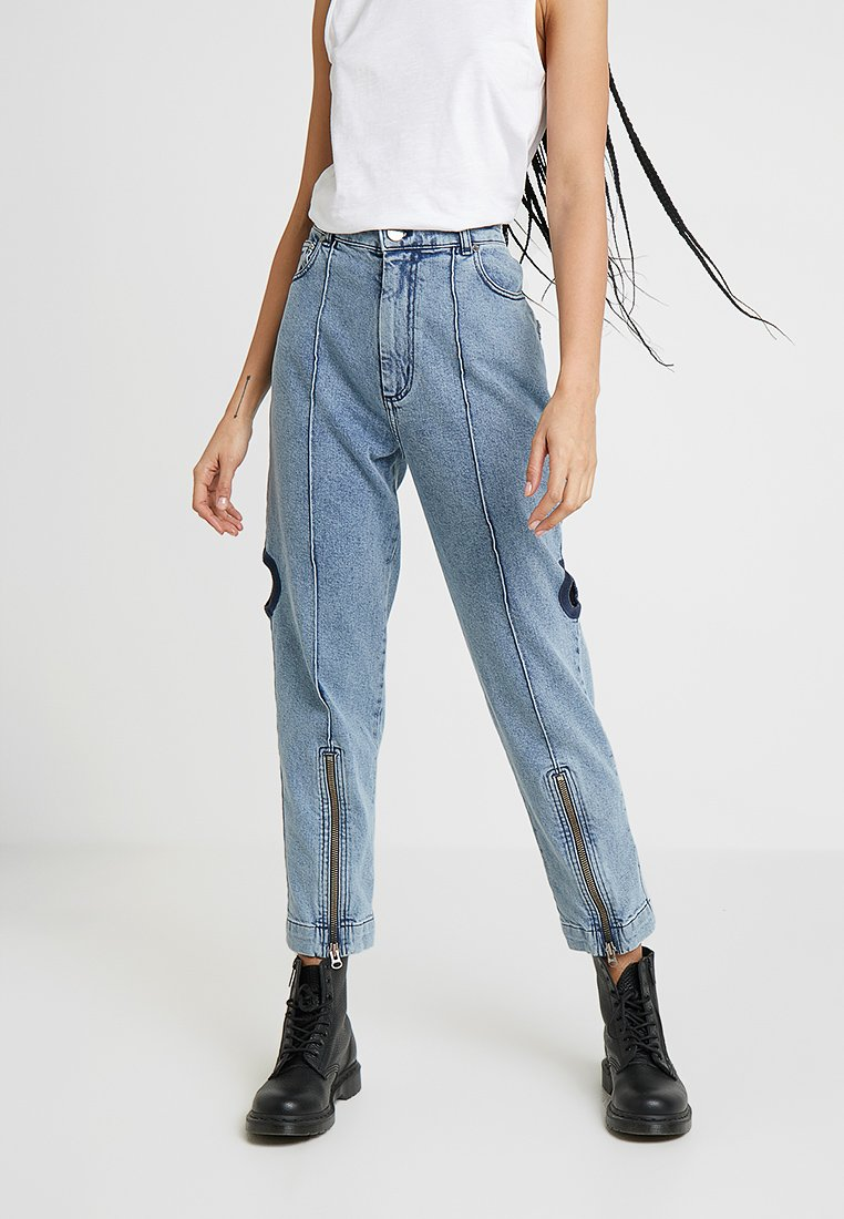 House of Holland - UTILITY - Straight leg jeans - blue