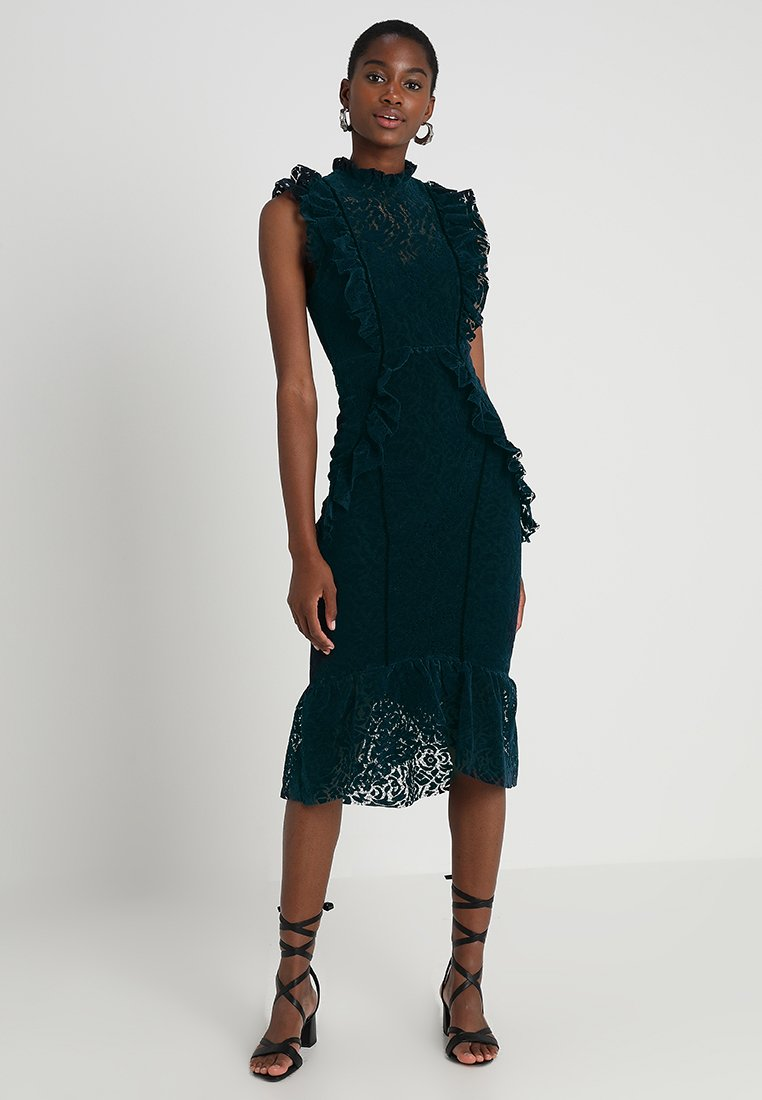 Hope & Ivy - MIDI - Cocktail dress / Party dress - teal