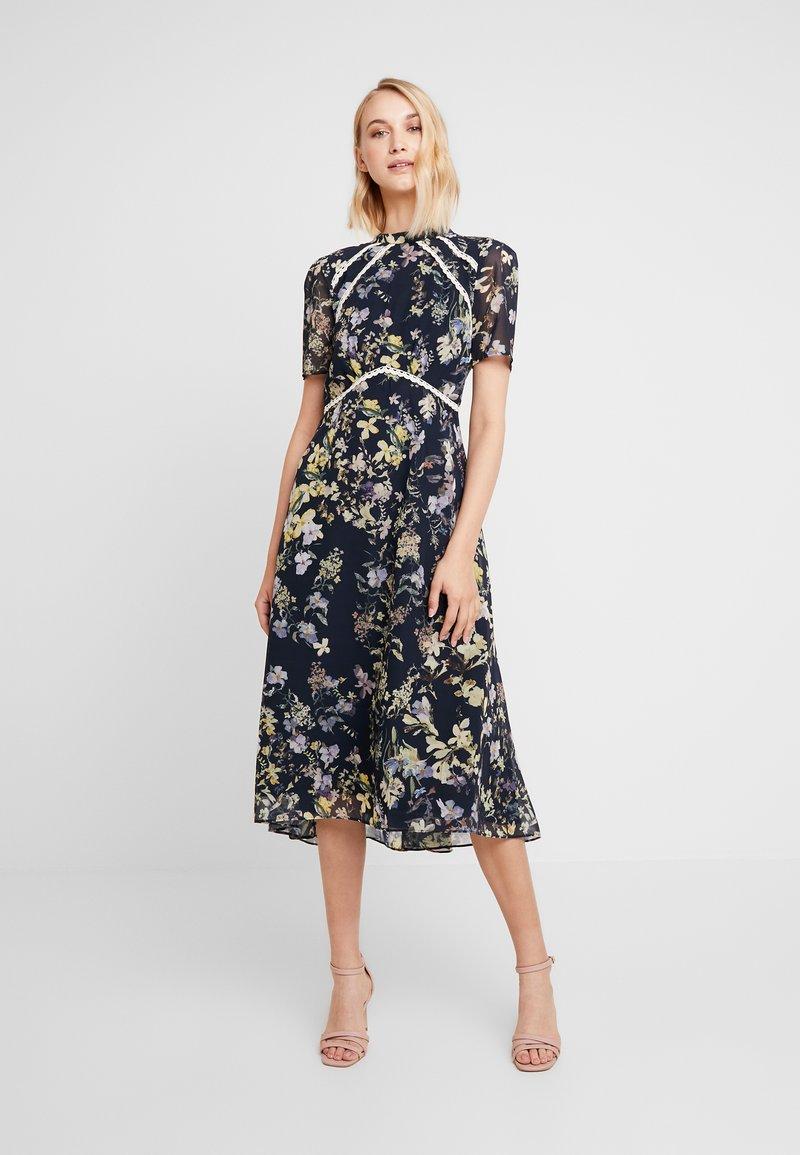Hope & Ivy - Cocktailkleid/festliches Kleid - navy