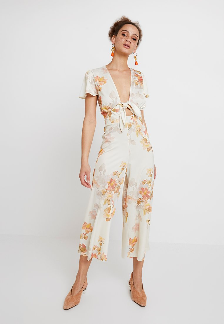 Hope & Ivy - Jumpsuit - white/red