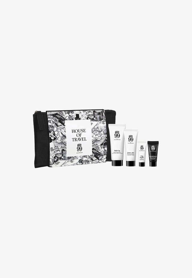 HOUSE 99 TRAVEL SET & POUCH  - Zestaw do kąpieli - -
