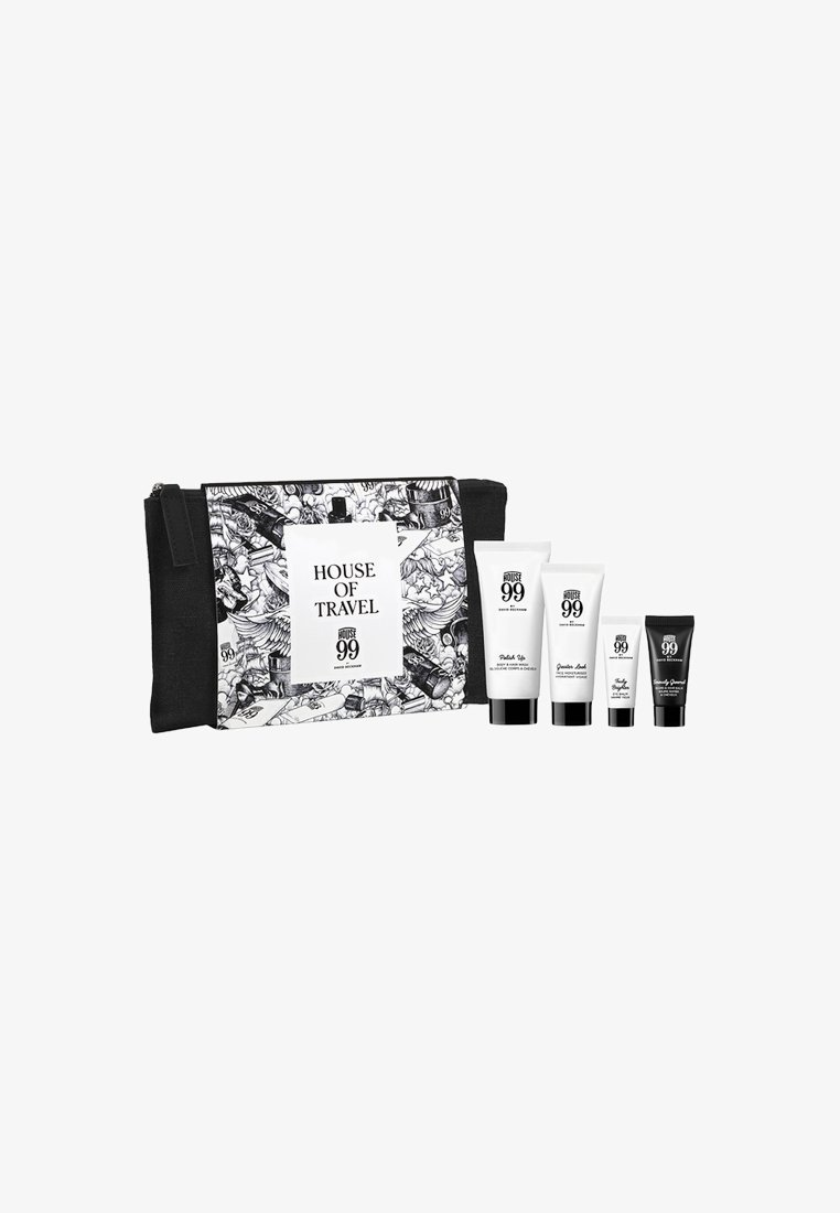 HOUSE 99 by David Beckham - HOUSE 99 TRAVEL SET & POUCH  - Bath and body set - -