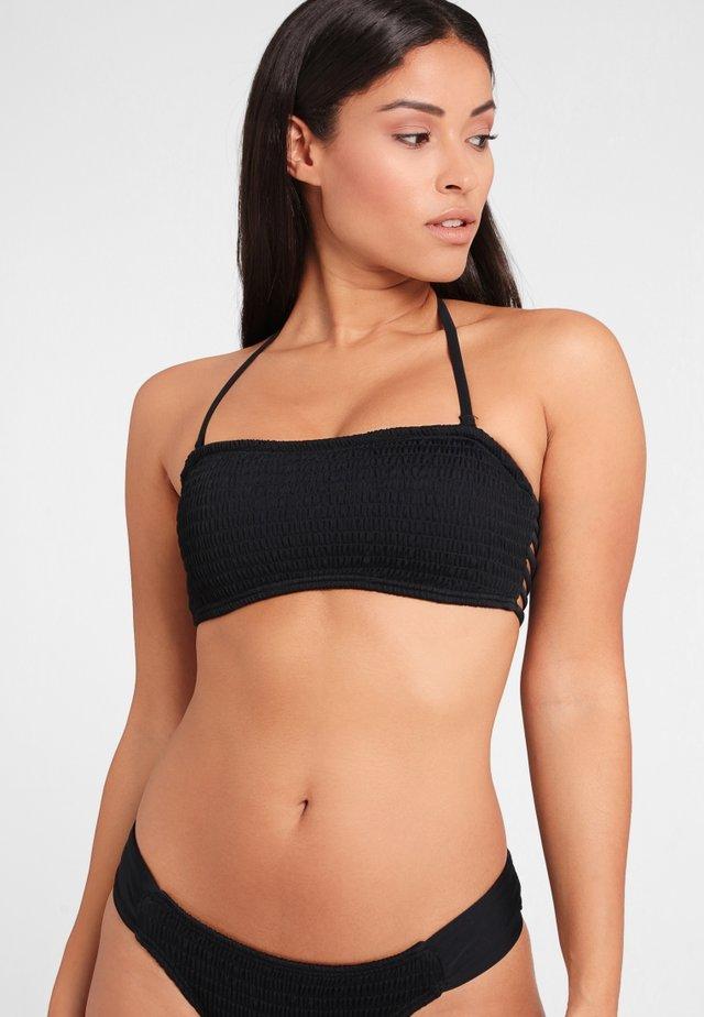 KUBA - Bikini top - black