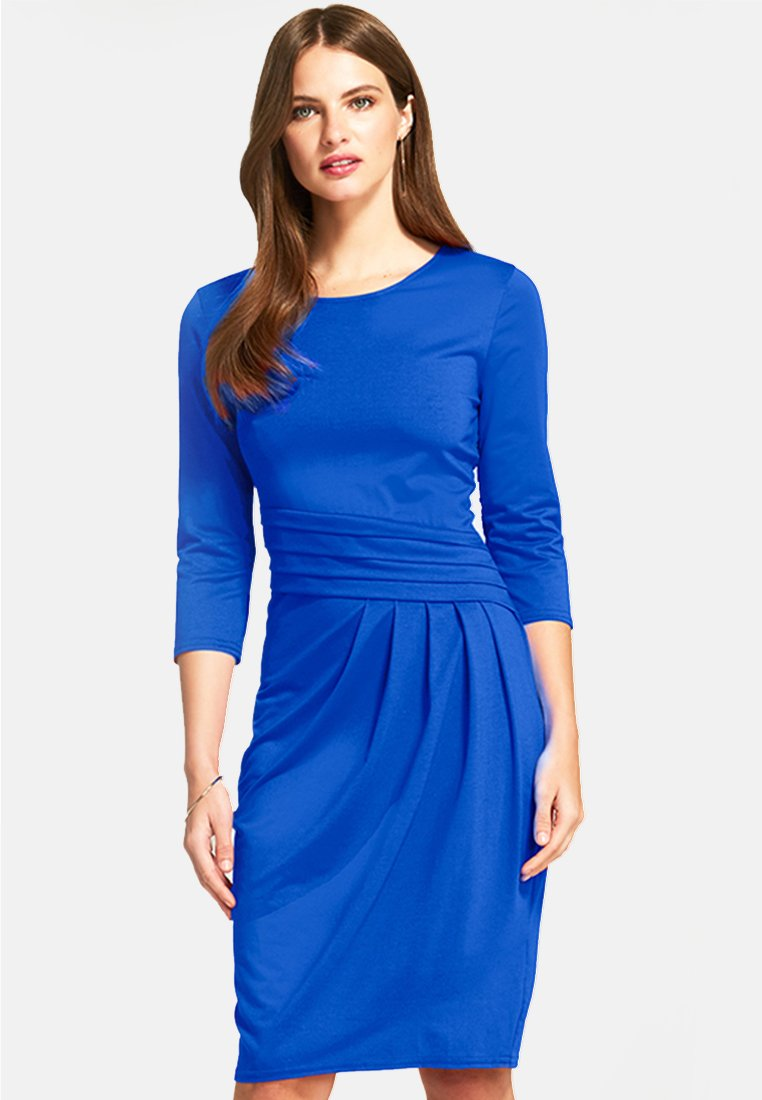 HotSquash - PLEAT  - Jerseyklänning - blue