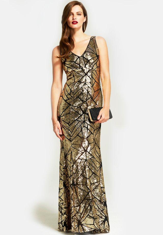 Festklänning - gold