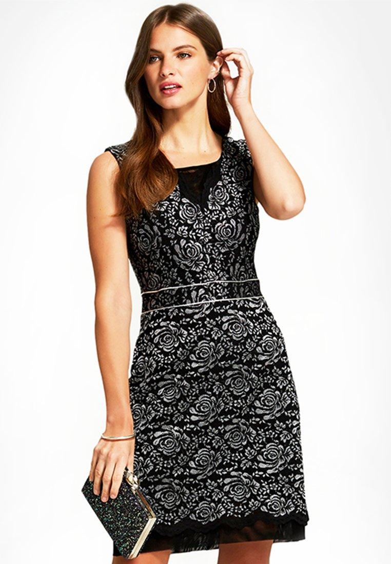 HotSquash - Cocktail dress / Party dress - silver/black