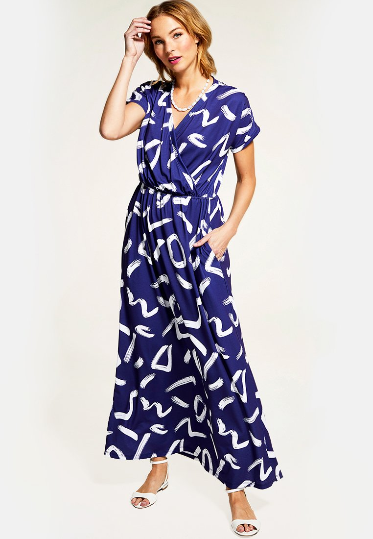 HotSquash - Maxi-jurk - blue