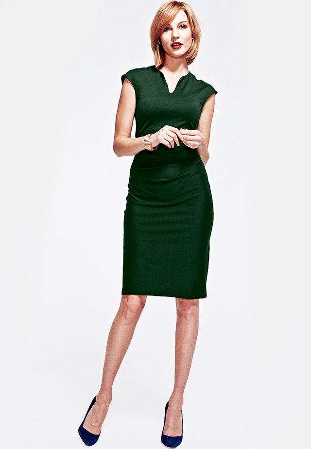 KENSINGTON - Sukienka etui - bottle green