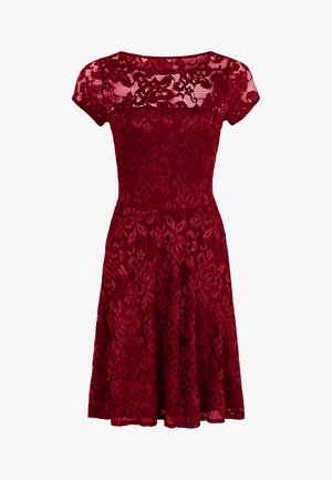 LACE - Cocktailjurk - red
