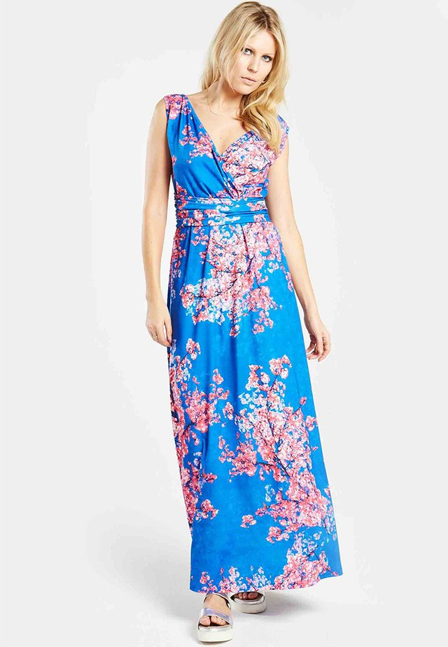 Maxiklänning - cherry print