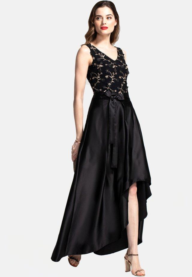 SILKY  - Vestito lungo - black