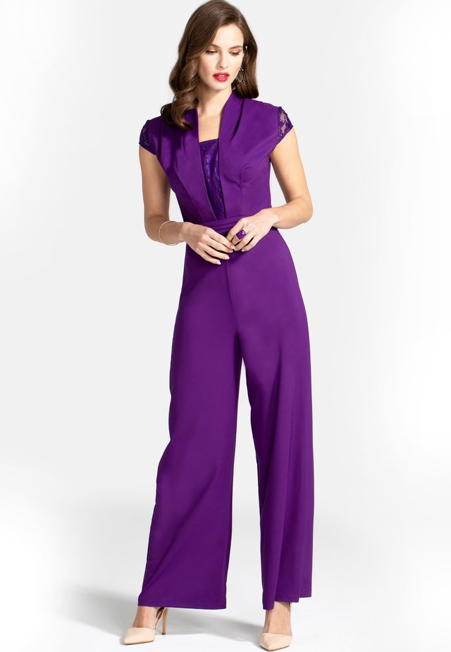 Overall / Jumpsuit - purple