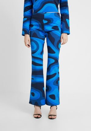 PALOMA PANTS - Trousers - blue