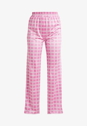 NORA LOGO PANTS - Trousers - pink