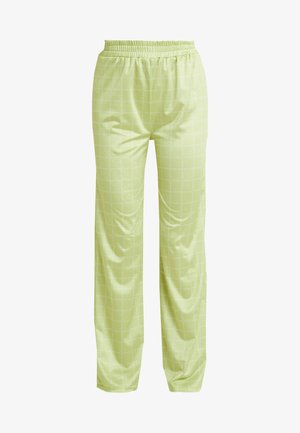 NORA LOGO PANTS - Broek - lime green