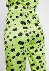 HOSBJERG - OLIVIA PANTS - Trousers - lime green