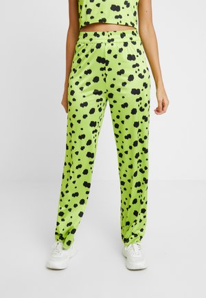 OLIVIA PANTS - Trousers - lime green