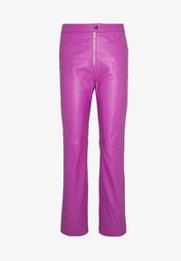 HOSBJERG - RUDY TROUSERS - Pantaloni - purple - 3