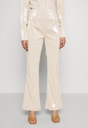 RAVEN PANTS - Trousers - nude