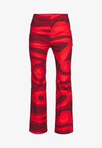 HOSBJERG - PALOMA PANTS - Trousers - red - 3