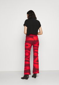 HOSBJERG - PALOMA PANTS - Trousers - red - 2