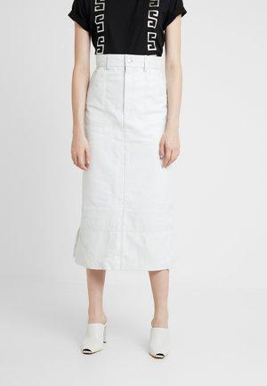 OLLIE SKIRT - Maxi skirt - white