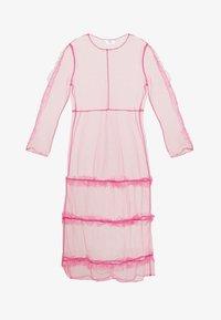 HOSBJERG - OTTAVIA DRESS - Korte jurk - pink - 5