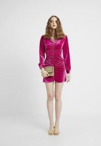 HOSBJERG - PHOEBE DRESS - Koktejlové šaty/ šaty na párty - pink - 1