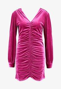 HOSBJERG - PHOEBE DRESS - Koktejlové šaty/ šaty na párty - pink - 5