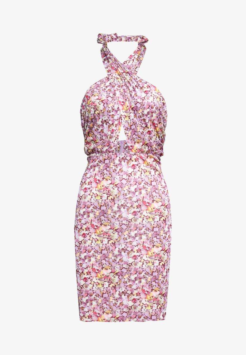 HOSBJERG - STELLA DRESS - Cocktailkjole - purple