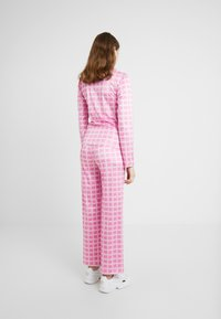 HOSBJERG - NORA LOGO - Long sleeved top - pink - 2