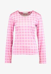 HOSBJERG - NORA LOGO - Long sleeved top - pink - 4